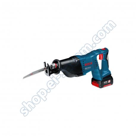 Electro-portatifs  - BOS060164J007 - Scie sabre sans fil GSA 18V-LI Click&Go avec coffret (hors batterie)