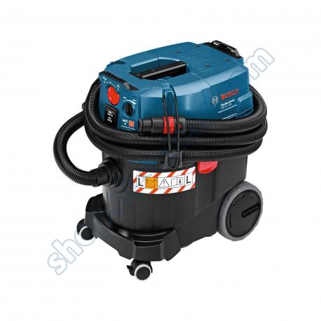Electro-portatifs  - BOS06019C32W0 - Aspirateur 35L eau et poussière classe L, nettoyage de filtre automatique GAS 35 L AFC